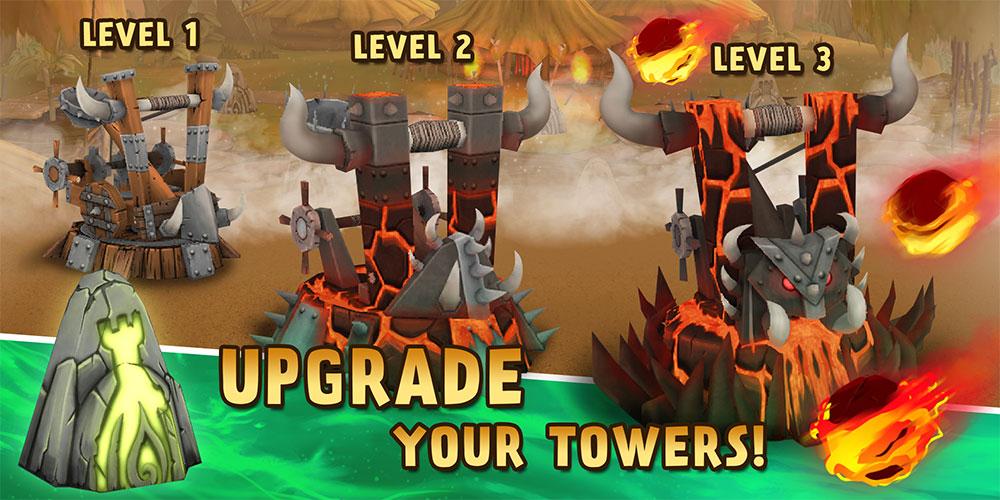 دانلود Skull Towers 1.1.7 - بازی برج دفاعی فوق العاده اندروید + مود