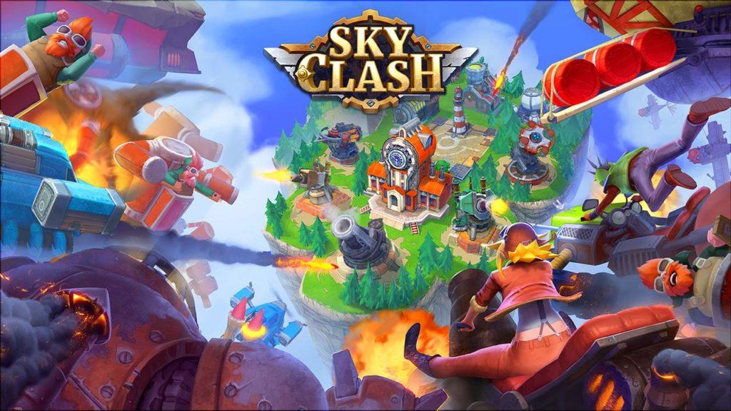 دانلود Sky Clash: Lords of Clans 3D 1.46.3994 - بازی استراتژی
