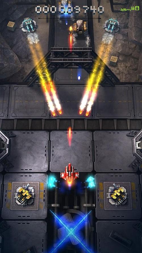 دانلود Sky Force Reloaded 1.95 b100127 - بازی خارق العاده نیروی آسمان اندروید + مود + دیتا