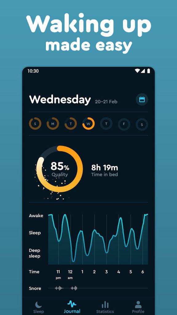 دانلود Sleep Cycle: Sleep analysis & Smart alarm clock Premium 3.2.2.3458 - آلارم کم نظیر و کارساز اسلیپ سایکل اندروید