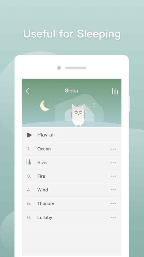 دانلود Sleep Sounds: Relax Sounds for Sleep,Be Calm&Focus 4.0.9 - برنامه صدا های خواب آرام اندروید