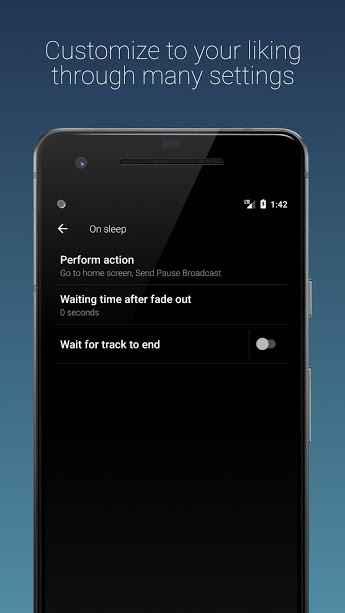 دانلود Sleep Timer (Turn music off) Full 2.5.3 - برنامه تایمر توقف موزیک مخصوص اندروید !
