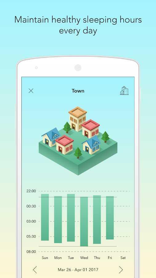 دانلود SleepTown Premium 3.2.0 - برنامه ی نوآورانه خواب منظم اندروید !