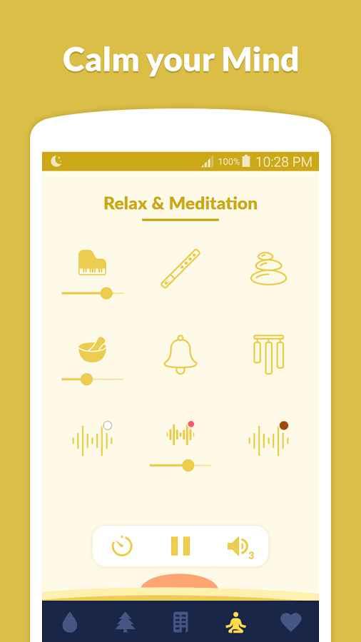 دانلود Sleepo: Relaxing sounds, Sleep Full 1.5.1 - مجموعه صدا آرام بخش اندروید !
