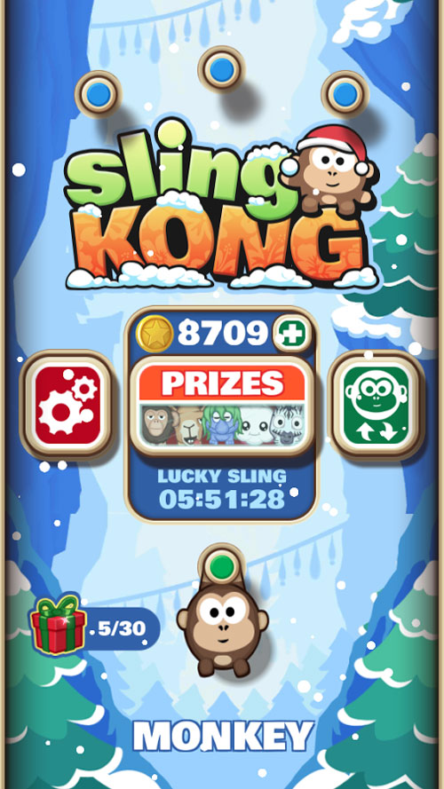 دانلود Sling Kong 3.16.1 - بازی هیجان آور و محبوب
