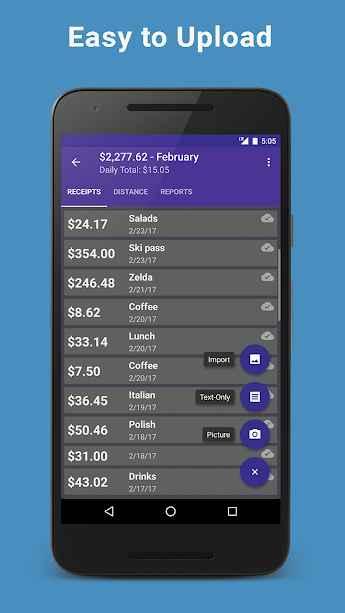 دانلود Smart Receipts Plus 4.17.0.543 - برنامه ردیاب امور مالی و رسید ها اندروید !