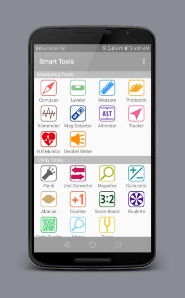 دانلود Smart Tools Pro -All in One 1.0.IN - مجموعه ابزار کاربردی اندروید