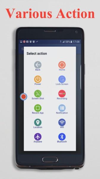 دانلود Smart Touch (Pro - No ads) 3.0.8 - برنامه مجموعه ابزار لمسی اندروید!