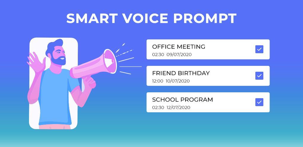 Smart Voice Prompt Reminders