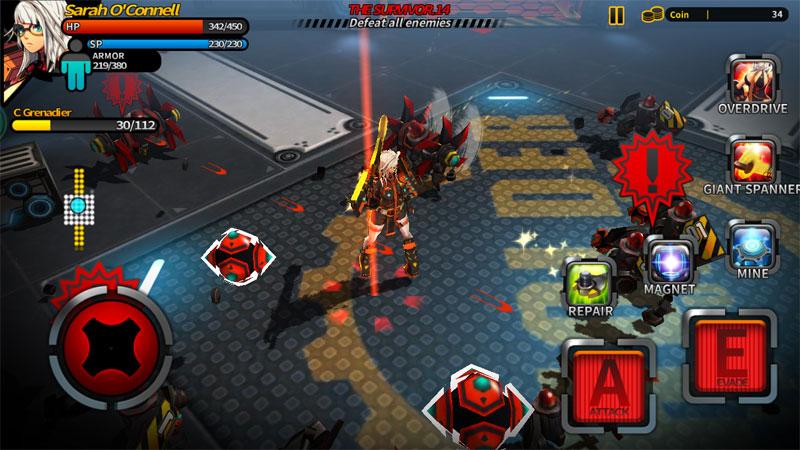 دانلود Smashing The Battle 1.09 - بازی اکشن نبرد فوق العاده اندروید + مود