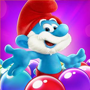 دانلود Smurfs Bubble Story 1.15.14866 - بازی پازل دهکده اسمورف ها اندروید + مود