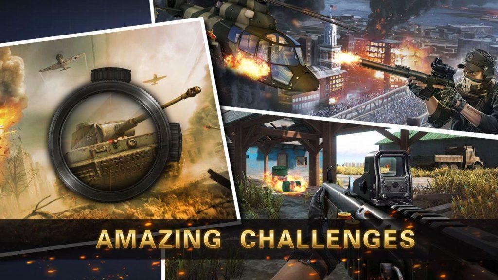 دانلود Sniper 3D Strike Assassin Ops - Gun Shooter Game 2.4.1 - بازی اکشن و تفنگی پرطرفدار