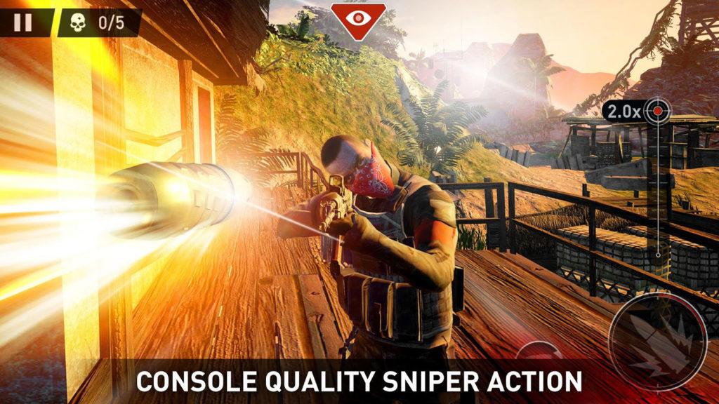 دانلود Sniper: Ghost Warrior 1.1.2 - بازی اسنایپری خارق العاده اندروید + مود + دیتا