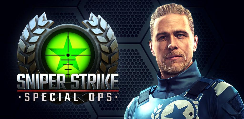 "Sniper Strike Special Ops Cover دانلود Sniper Strike : Special Ops 1.504 – بازی اکشن خارق العاده ""اعتصاب تک تیرانداز: عملیات ویژه"" آندروید + مود + دیتا"