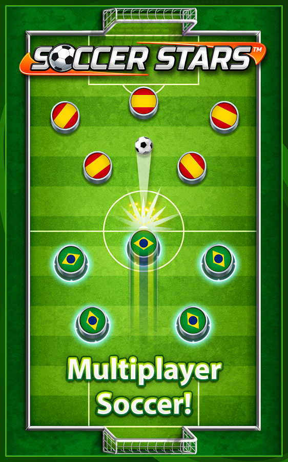 دانلود Soccer Stars 4.1.2 - بازی ورزشی محبوب ستاره های فوتبال اندروید !