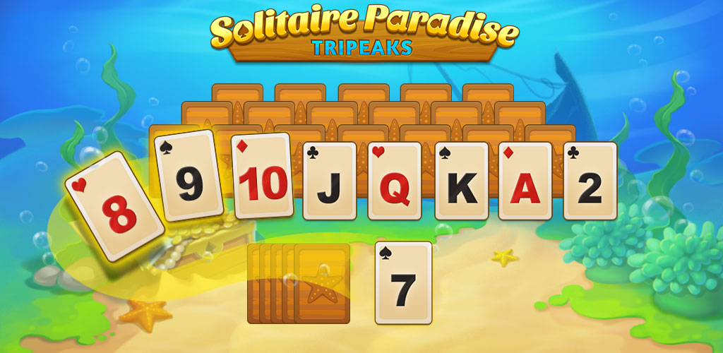 Solitaire Paradise: Tripeaks