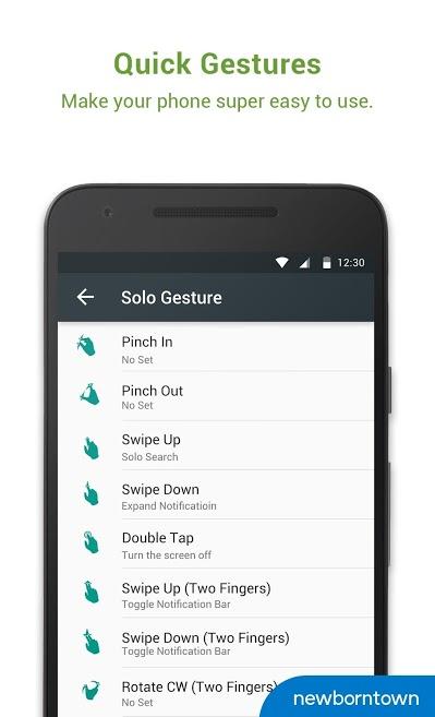 دانلود Solo Launcher-Clean,Smooth,DIY 2.7.7.3 - لانچر محبوب و قدرتمند سولو اندروید!
