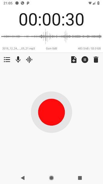 دانلود ASR Voice Recorder Pro 234 - برنامه ضبط صدا ای اس ار اندروید