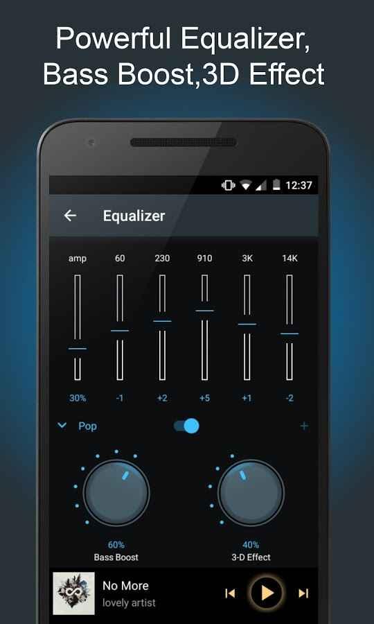 دانلود SoundCrowd Music Player Full 1.7.2 - پلیر قدرتمند و با کیفیت اندروید