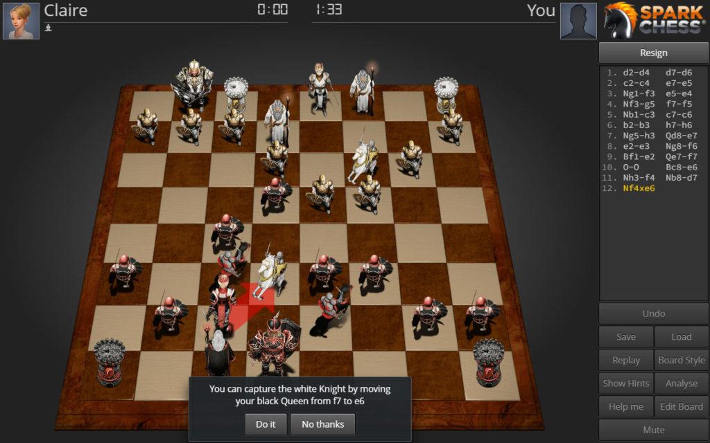 دانلود SparkChess HD Pro 11.2.6 - بازی اچ دی شطرنج درخشان اندروید !