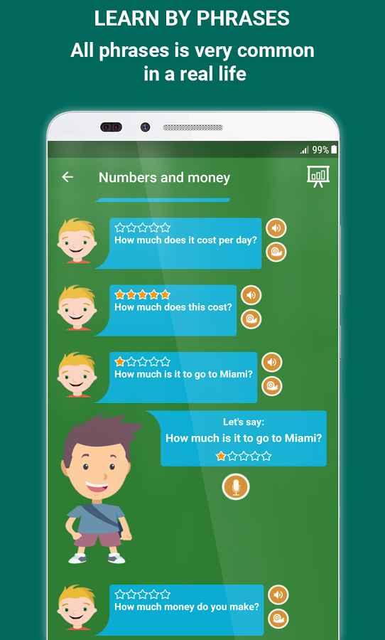 دانلود Speak English - Learn English Speaking Pro 2.2.6 - برنامه یادگیری مکالمه زبان انگلیسی اندروید
