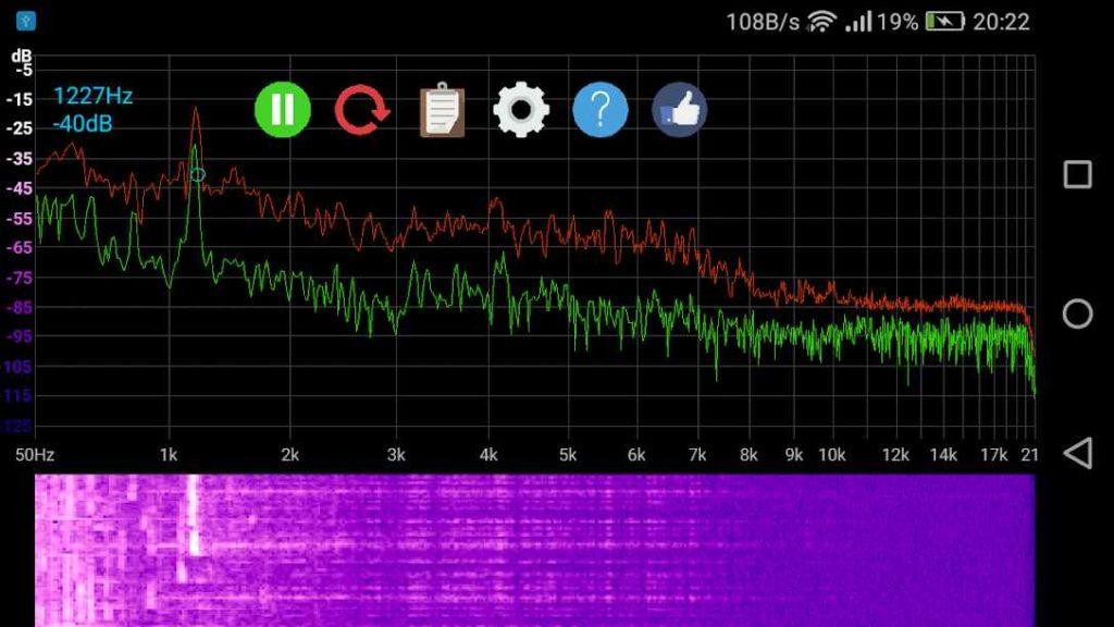 دانلود Speccy Spectrum Analyzer 1.5.1 - برنامه تجزیه و تحلیل طیف صوتی اندروید