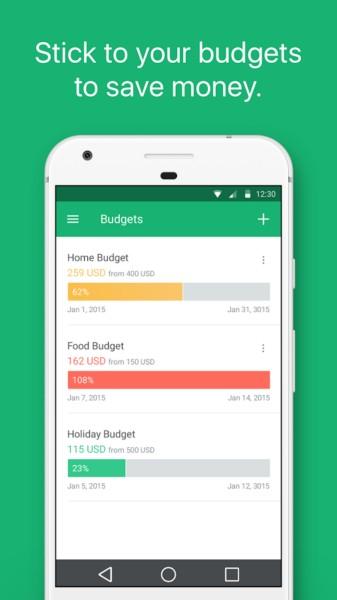 دانلود Spendee Pro 3.10.3 - برنامه مدیریت و پس انداز هزینه ها در اندروید