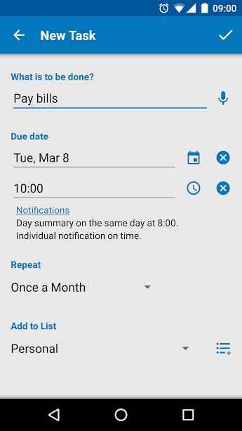 دانلود Splend Apps To Do List Full 3.105 - برنامه لیست وظایف هوشمند اندروید !