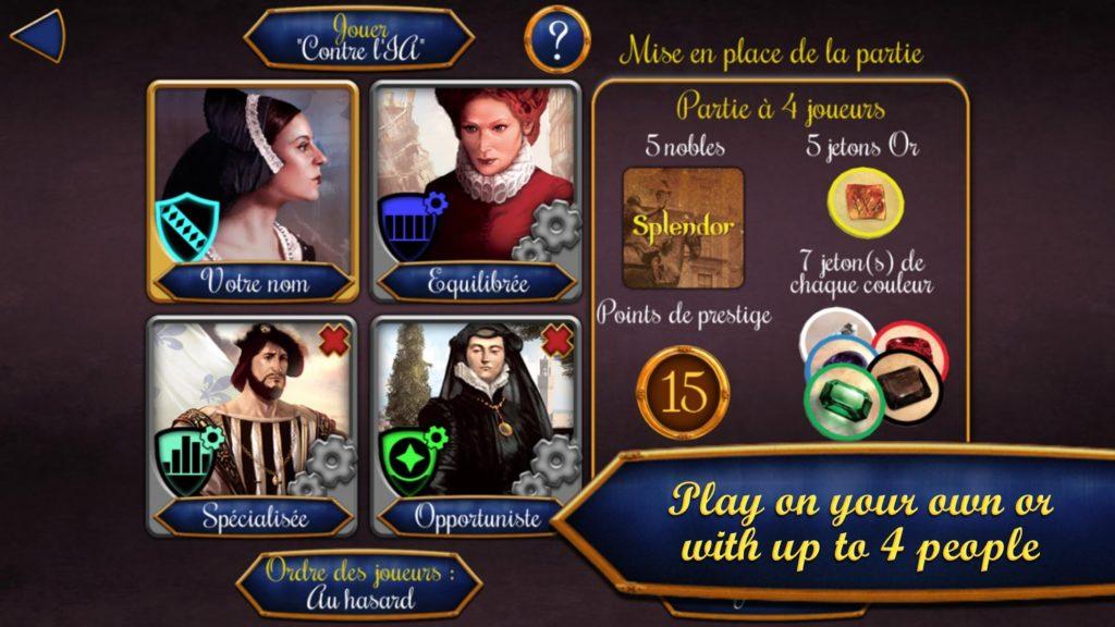 """دانلود Splendor 2.3.0 - بازی کارتی محبوب و فوق العاده """"اسپلندور"""" اندروید + دیتا"""