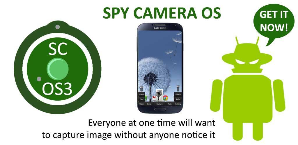 نرم افزار جاسوسی دوربین اندروید Spy Camera OS 3 (SC-OS33