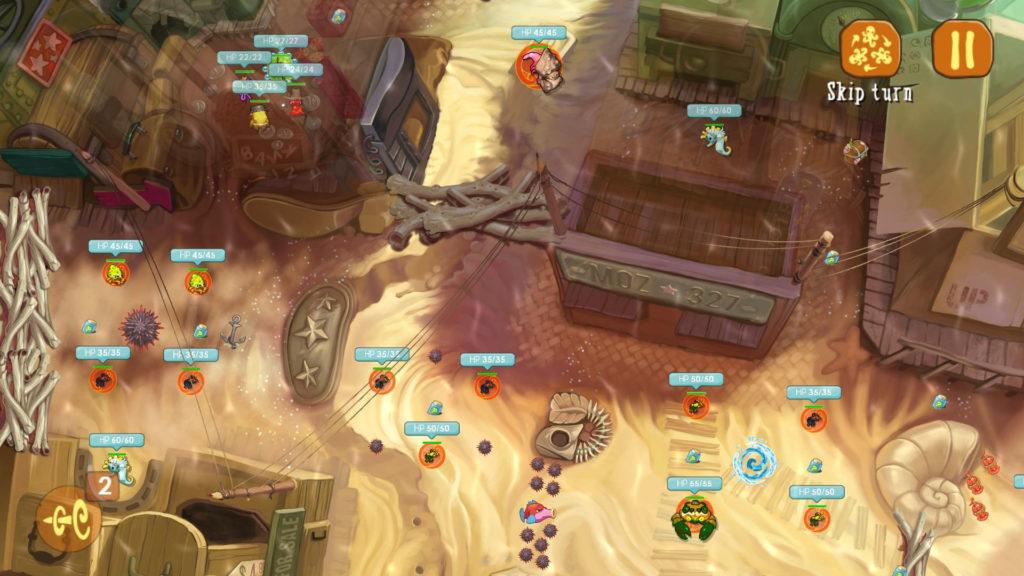 دانلود Squids Odyssey 1.0.90 - بازی ماجراجویی خاص و زیبا