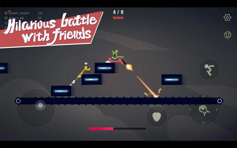 دانلود Stick Fight: The Game Mobile 1.4.21.18813 - بازی مبارزه ای