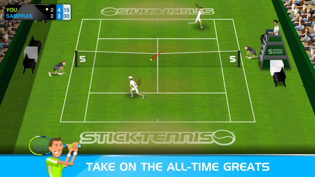 دانلود Stick Tennis 2.7.0 - بازی ورزشی اعتیادآور