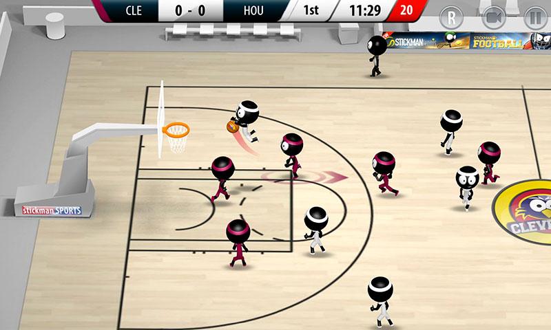 Stickman Basketball 2017 Games