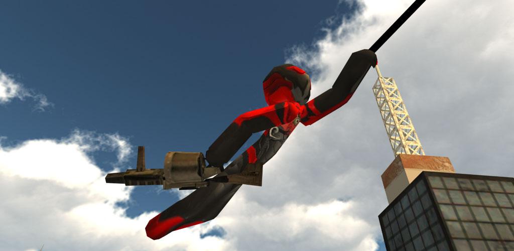 Stickman Rope Hero 2