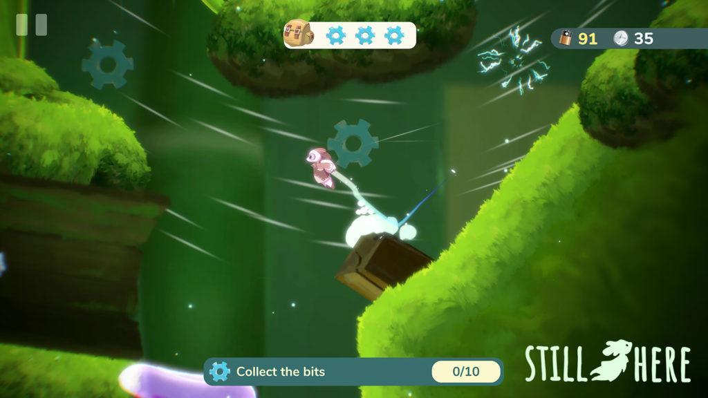 دانلود Still Here... A Cute Flight Adventure 0.20.33 - بازی ماجراجویی متفاوت و عالی اندروید + مود