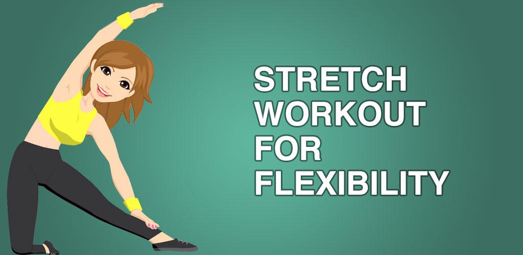 Stretching exercise. Flexibility training for body Premium