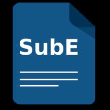 SubE: Subtitle Editor