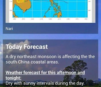 Sunny HK -Weather Clock Widget-2