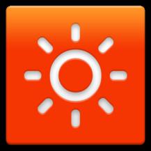 Sunny HK -Weather Clock Widget-Logo