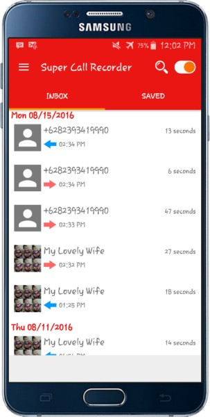 دانلود Super Call Recorder PRO 1.0 - برنامه حرفه ای ضبط مکالمات اندروید