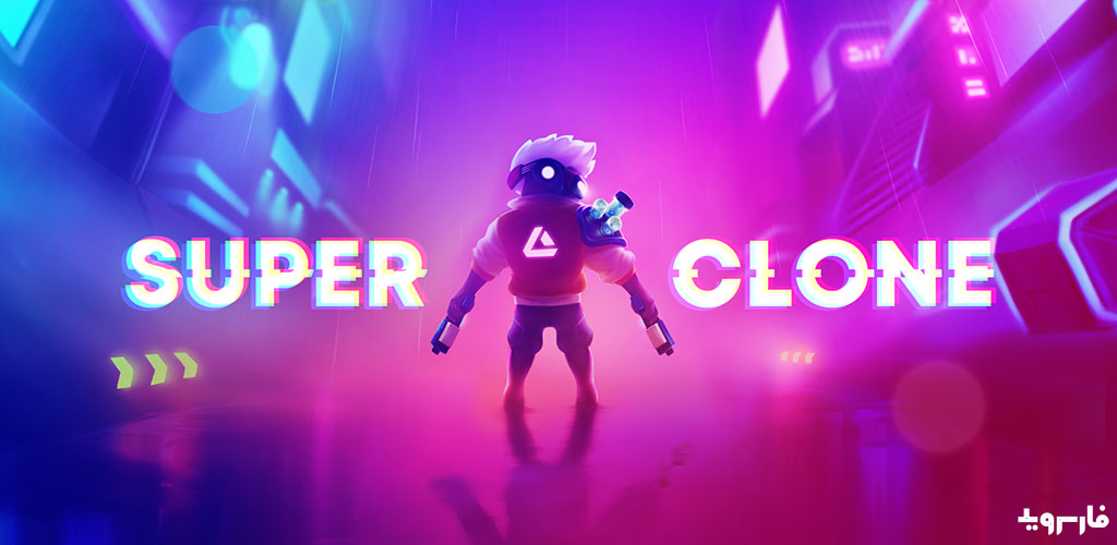 Super Clone cyberpunk roguelike action
