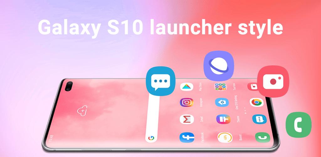 Super S10 Launcher for Galaxy S8S9S10J launcher Premium