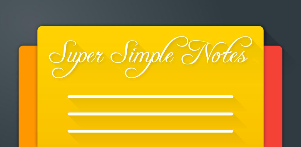Super Simple Notes