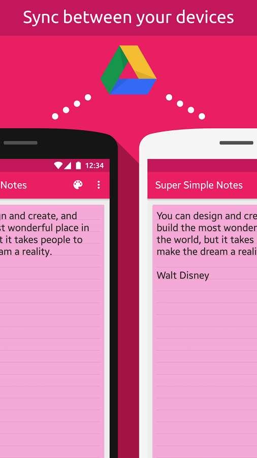 دانلود Super Simple Notes Full 1.4.0 - برنامه یادداشت فوق ساده اندروید !