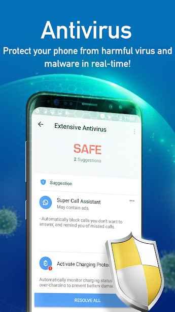 دانلود Super Speed Cleaner: Virus Cleaner, Phone Cleaner Full 1.4.8 - پاک کننده و آنتی ویروس حرفه ای