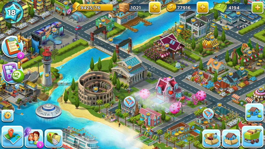دانلود SuperCity: Build a Story 1.22.0 - بازی شهرسازی بی نظیر اندروید + دیتا