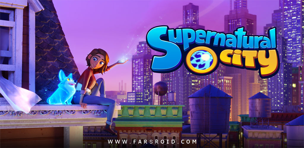 Supernatural City Mystery Match 3