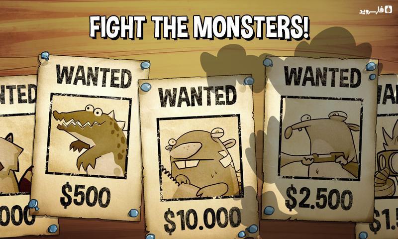 دانلود Swamp Attack 3.0.1 - بازی محبوب و عالی