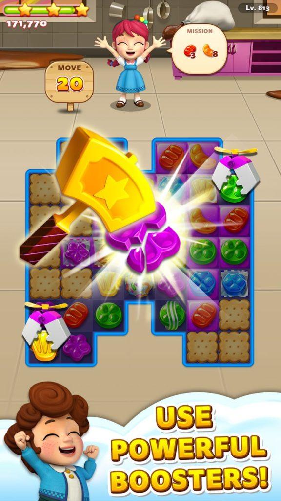 دانلود Sweet Road – Cookie Rescue 6.7.1 - بازی پازل و تطبیق ساز